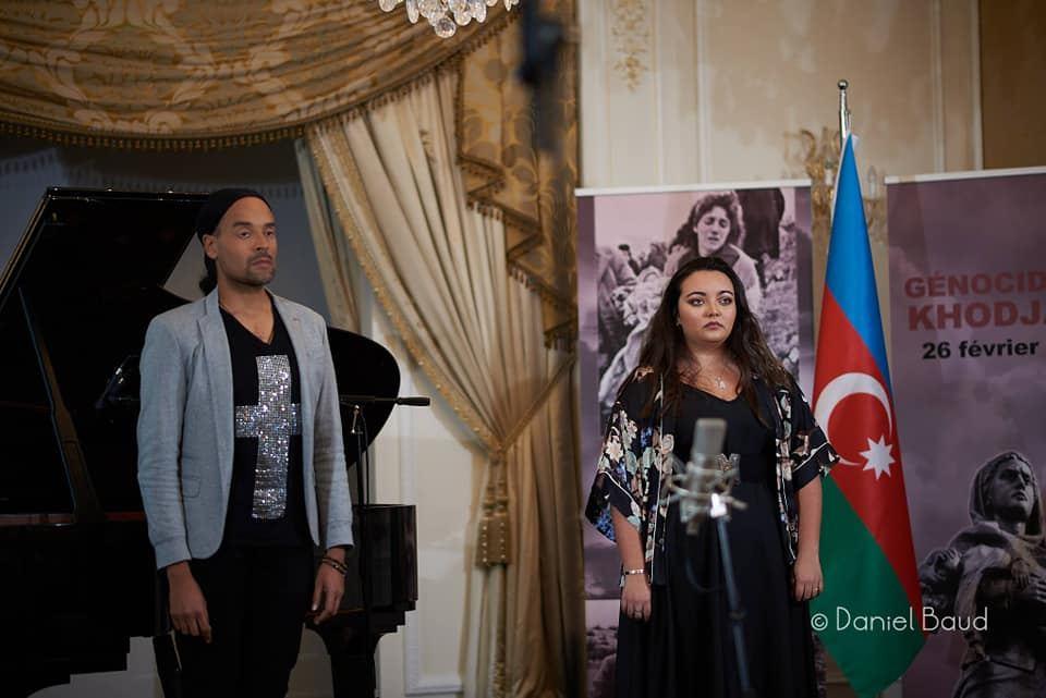 В Париже прошел концерт памяти жертв Ходжалинского геноцида (ВИДЕО, ФОТО) - Gallery Image