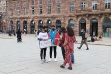 Strasburqun Kleber meydanında şamlarla Xocalıya görə şamlar yandırılıb (FOTO) - Gallery Thumbnail
