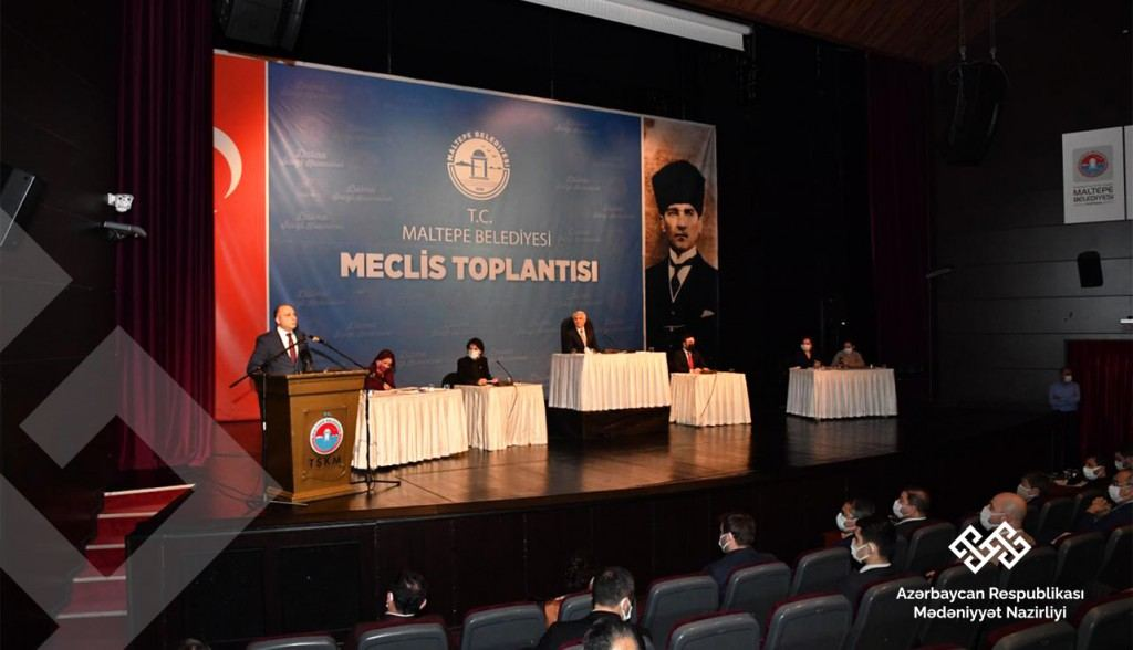 Министр культуры встретился с известными азербайджанцами, проживающими в Турции (ФОТО) - Gallery Image