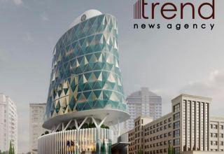 В Баку продолжается строительство здания Таможенного комитета
