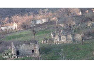 Azerbaijan shares footage from Fuzuli's Garadaghly village (VIDEO)