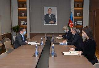 Azerbaijani FM, head of Baku office of CE exchange views on development of new action plan for cooperation (PHOTO)