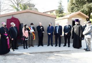 Initiated by Mehriban Aliyeva, Heydar Aliyev Foundation makes new contribution to protection of world and religious heritage in Vatican (PHOTO)