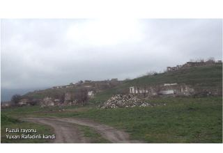 Azerbaijan shares footage from Fuzuli's Yukhary Rafadinli village (VIDEO)