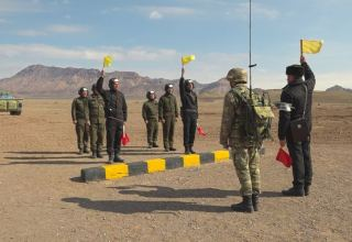 Azerbaijani Nakhchivan's Separate Combined Arms Army holding live-fire training classes (PHOTO/VİDEO)