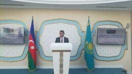 """Trans-Caspian Fiber Optic Cable Project discussed at """"Kazakhstan-Azerbaijan: New Opportunities for Cooperation"""" event (PHOTO) - Gallery Thumbnail"""