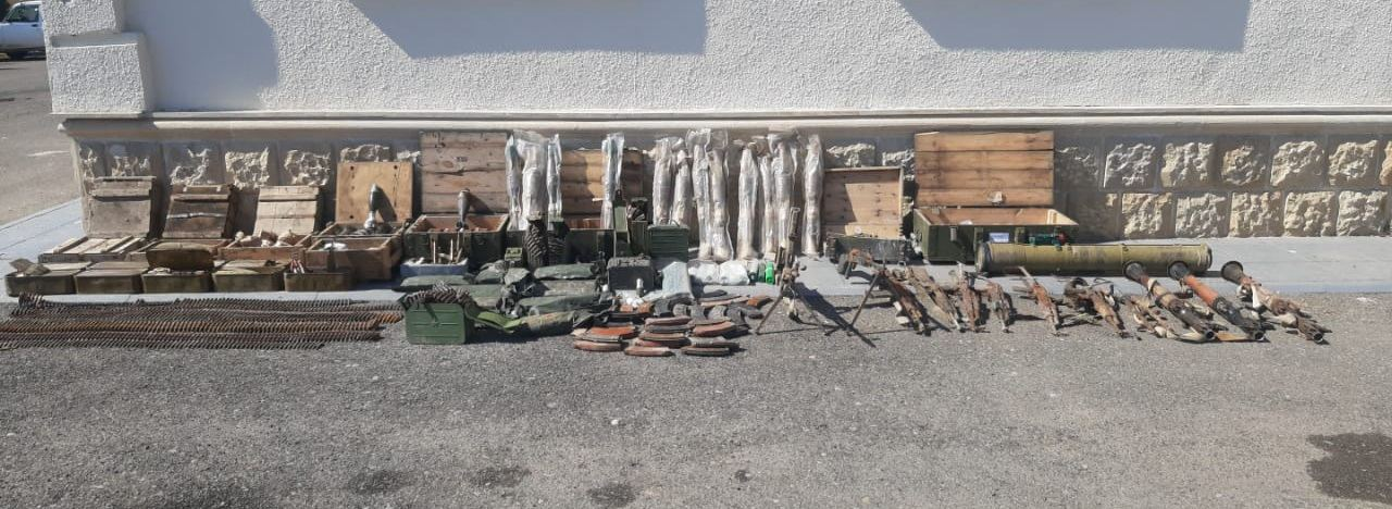 Another batch of weapons left by Armenian troops, found in Azerbaijan's Fuzuli (PHOTO/VIDEO) - Gallery Image