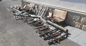 Another batch of weapons left by Armenian troops, found in Azerbaijan's Fuzuli (PHOTO/VIDEO) - Gallery Thumbnail