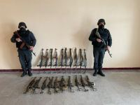 Azerbaijani police forces find ammunition left by Armenia in Gubadly, Jabrayil districts (PHOTOS) - Gallery Thumbnail