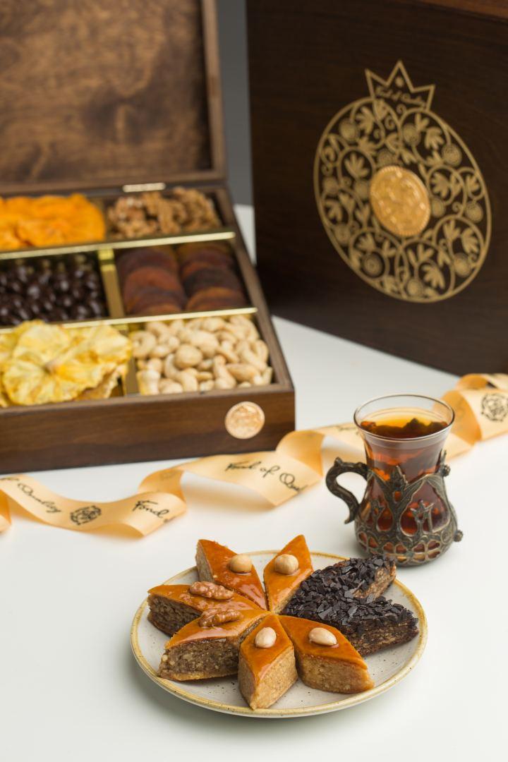 """Öz yaxınlarınıza və tərəfdaşlarınıza """"Xurcun Luxury Nuts, Sweets & Dried fruits"""" ilə birgə sevinc bəxş edin (FOTO) - Gallery Image"""