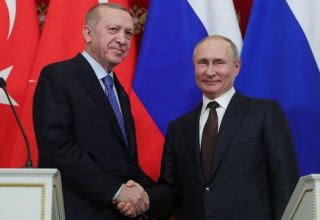 Russian, Turkish presidents discuss issues related to Karabakh