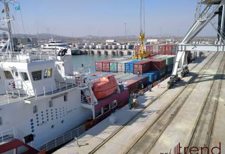 Volume of cargo exported by Azerbaijan via sea in 2021 disclosed