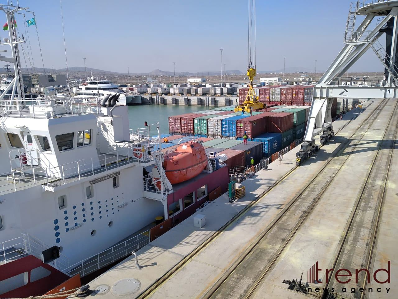 Azerbaijan's advanced port infrastructure could serve for co-op dev't with Germany