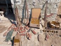 Azerbaijani police finds munitions left by Armenian soldiers in Khojavend district (PHOTO) - Gallery Thumbnail