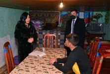 Representatives of Azerbaijani Defense Ministry and local executive structures visit families of martyrs (PHOTO) - Gallery Thumbnail