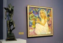 Впервые в Баку персональная выставка Нигяр Нариманбековой! Ода сильной женщине (ФОТО) - Gallery Thumbnail