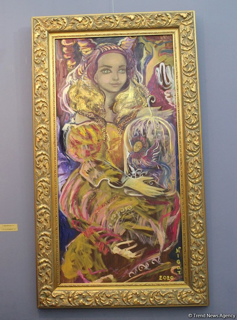 Впервые в Баку персональная выставка Нигяр Нариманбековой! Ода сильной женщине (ФОТО) - Gallery Image