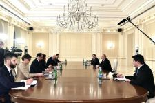 President Aliyev receives delegation led by OSCE Chairman-in-Office (PHOTO) - Gallery Thumbnail
