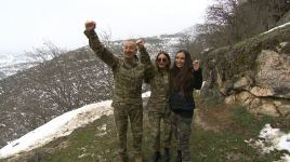 Azerbaijani president, first lady visit Azykh cave (PHOTO/VIDEO) - Gallery Thumbnail