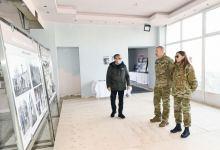 President Ilham Aliyev, First Lady Mehriban Aliyeva visit city of Shusha  (PHOTO) - Gallery Thumbnail