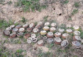 Azerbaijan shares details on mine clearance in liberated territories