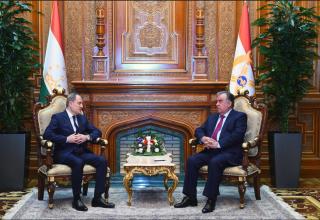 Глава МИД Азербайджана встретился с Президентом Таджикистана (ФОТО)