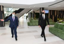 President Ilham Aliyev attends opening ceremony of another DOST Center in Baku (PHOTO) - Gallery Thumbnail