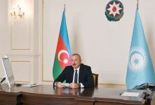 Azerbaijani president delivers speech at summit of Cooperation Council of Turkic-speaking states (PHOTO/VIDEO) - Gallery Thumbnail