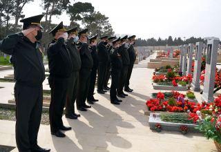 Почтена память Национального героя Азербайджана Шукюра Гамидова (ФОТО)