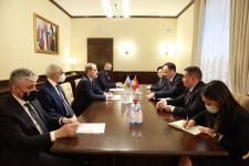 Azerbaijani, Kyrgyz FMs exchange views on expanding and deepening existing bilateral ties (PHOTO) - Gallery Thumbnail
