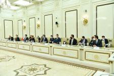 Председатель Милли Меджлиса Сахиба Гафарова провела встречу с министром торговли Турецкой Республики (ФОТО) - Gallery Thumbnail