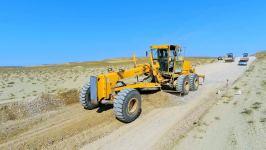 На Абшероне строят дорогу к грязевым вулканам (ФОТО) - Gallery Thumbnail