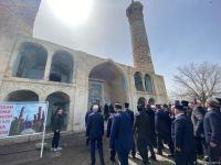 Главы религиозных конфессий в Азербайджане посетили Агдамскую джума-мечеть (ФОТО) - Gallery Thumbnail