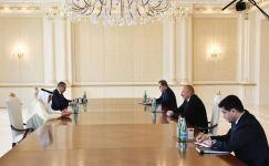 Azerbaijani president receives OIC Sec-Gen (PHOTO) (UPDATE) - Gallery Thumbnail