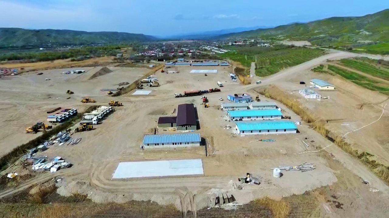 Началось строительство автодороги Худаферин-Губадлы-Лачин (ФОТО) - Gallery Image
