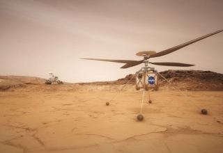 NASA's Mars helicopter to attempt first flight