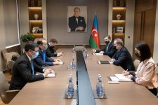 Azerbaijani FM, Sec-Gen of Turkic Council discuss issues of mutual interest (PHOTO) - Gallery Thumbnail