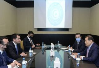 Azerbaijani president's assistant meets with Turkic Council's secretary-general