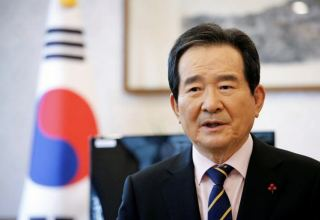 South Korean PM arrives in Tehran