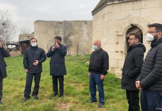 Delegation of Turkic Council visits Imarat cemetery destroyed by Armenians (PHOTO/VIDEO)