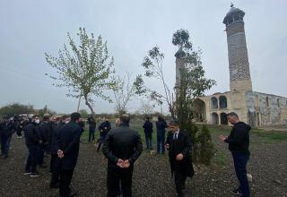 Delegation of Turkic Council visits Azerbaijan's Aghdam Juma Mosque (PHOTO/VIDEO)
