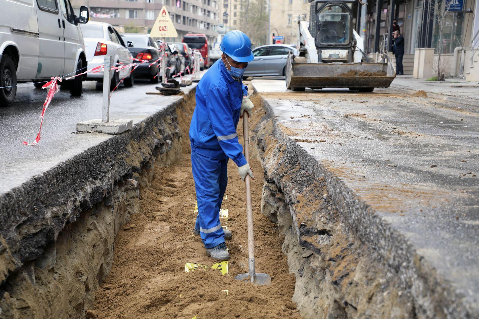 В Насиминском районе Баку улучшается газоснабжение 35 тыс. абонентов (ФОТО) - Gallery Image