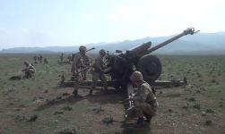 В ВС Азербайджана начались тактические учения артиллеристов и ракетчиков (ФОТО/ВИДЕО) - Gallery Thumbnail