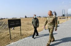 President Ilham Aliyev attends opening of Military Trophy Park in Baku (PHOTO) - Gallery Thumbnail