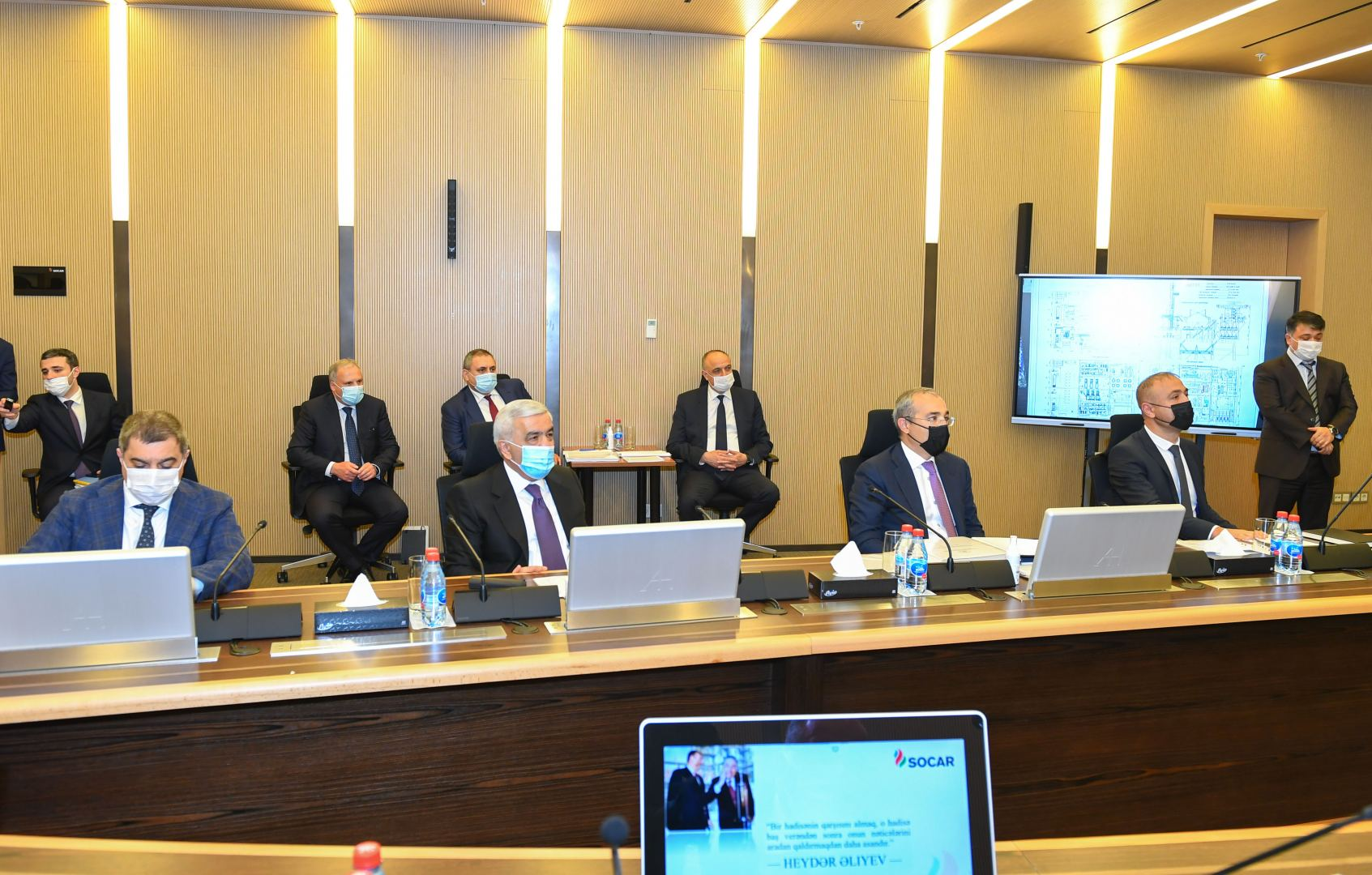 SOCAR's Supervisory Board working on enhancing company's operability (PHOTO) - Gallery Image