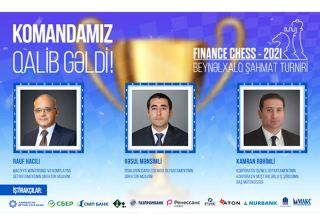 Сотрудники Международного Банка Азербайджана стали победителями международного турнира