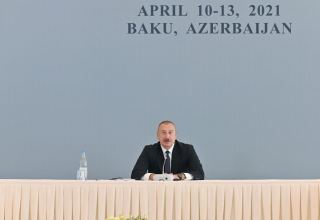 President Ilham Aliyev: Armenians did it deliberately in order to erase legacy of Azerbaijani culture in order to erase these territories from our memories