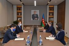 Azerbaijani FM, Romanian ambassador stress high level of development of bilateral political relations (PHOTO) - Gallery Thumbnail