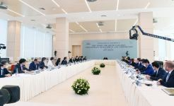 Azerbaijani President Ilham Aliyev addresses conference at ADA University (PHOTO/VIDEO) - Gallery Thumbnail