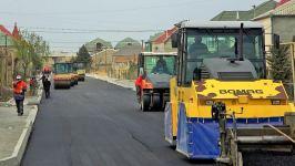 В одном из поселков Баку заканчивается ремонт улицы (ФОТО) - Gallery Thumbnail